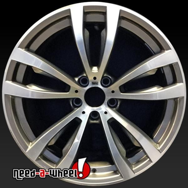 "2014-2017 BMW X Series oem wheels for sale. 20"" Machined stock rims 86058 https://www.need-a-wheel.com/rim-shop/20-bmw-x-series-oem-wheels-rims-machined-86058/, , #oemwheels, #factorywheels"