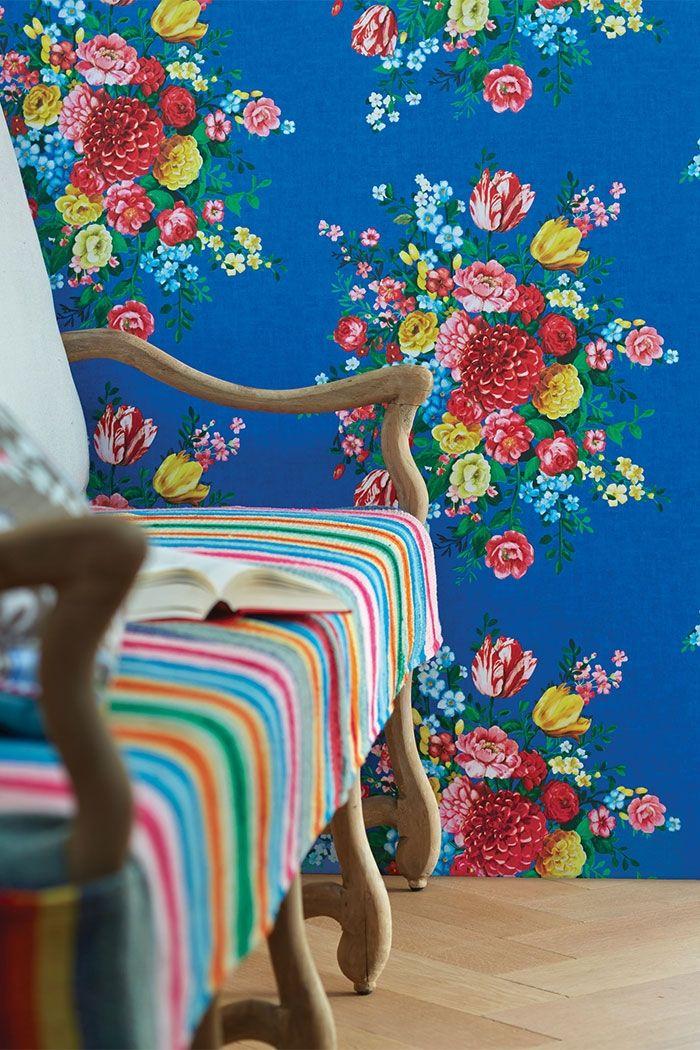 PiP Dutch Painters | Dark Blue Wallpaper | PiP Studio ©