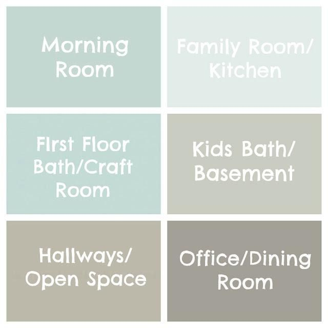 Perfect! Always have trouble putting room colors together!