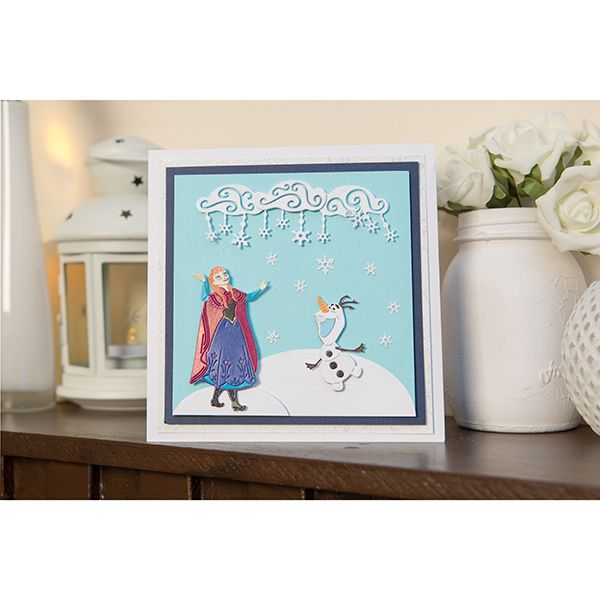 Disney Frozen Anna Die and Face Stamp Set (376357) | Create and Craft