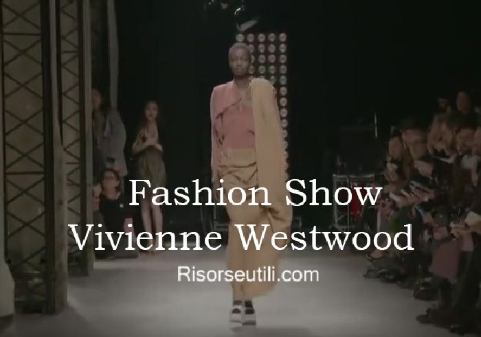Fashion show Vivienne Westwood fall winter 2016 2017 womenswear