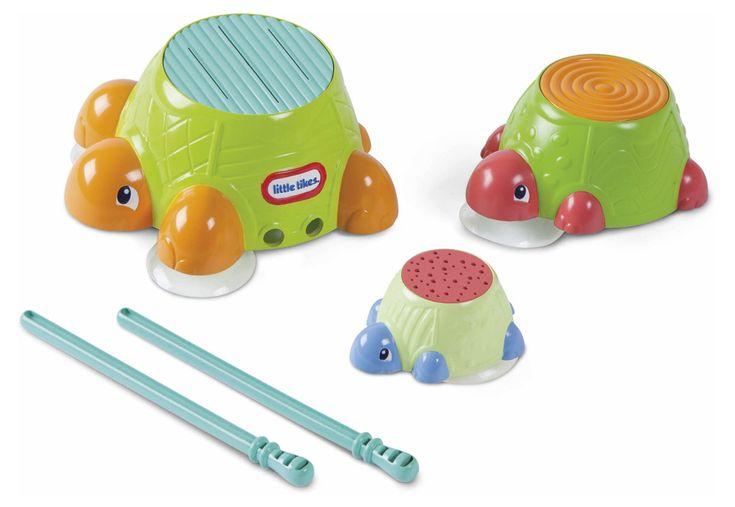 Игрушка для ванны «черепашки-барабаны» little tikes