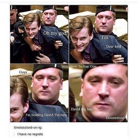 """Just the awkward """"doooweedooo"""""""