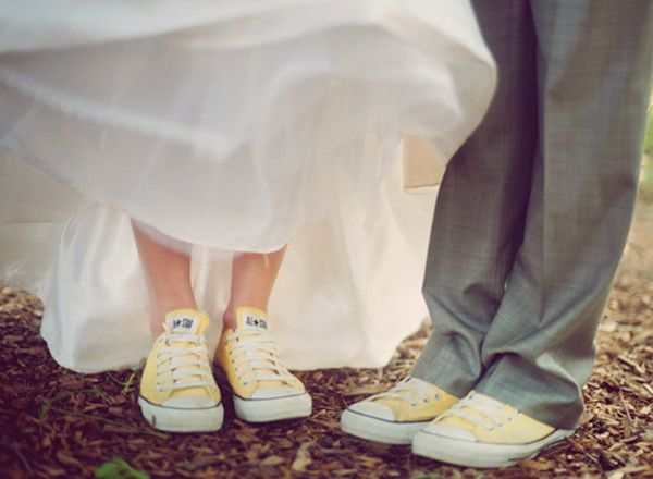 All for weddings: Converse Wedding Shoes- Be A Different Bride