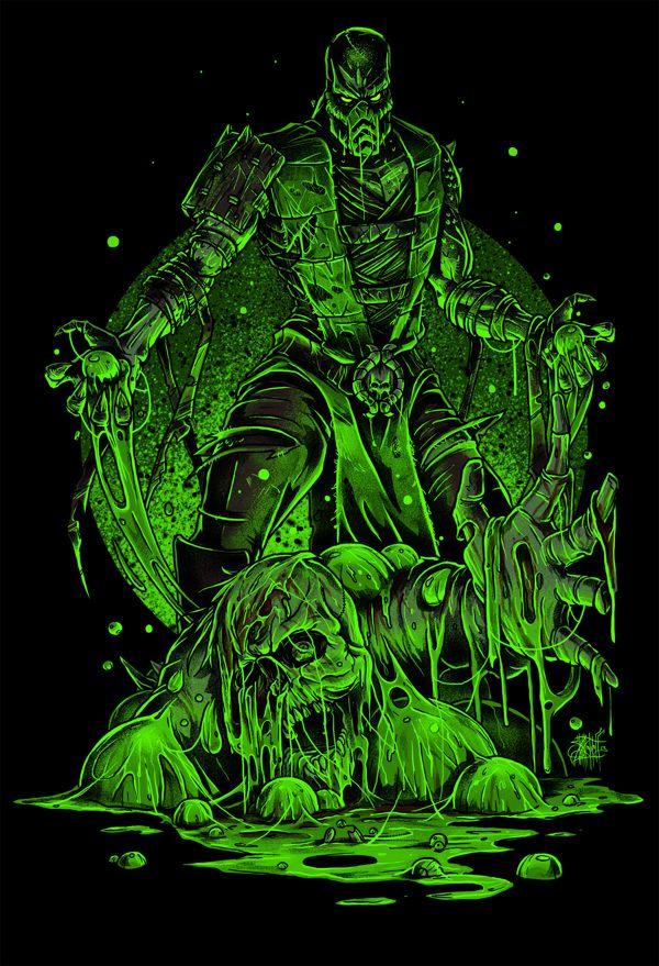 REPTILE / Mortal Kombat by Nikita Shalaginov