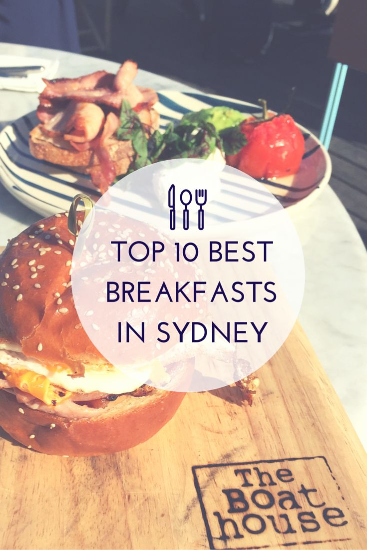 Looking for the best place to eat breakfast #Sydney? We've hand selected our Top 10 Breakfasts and we know you'll love them! #Breakfast