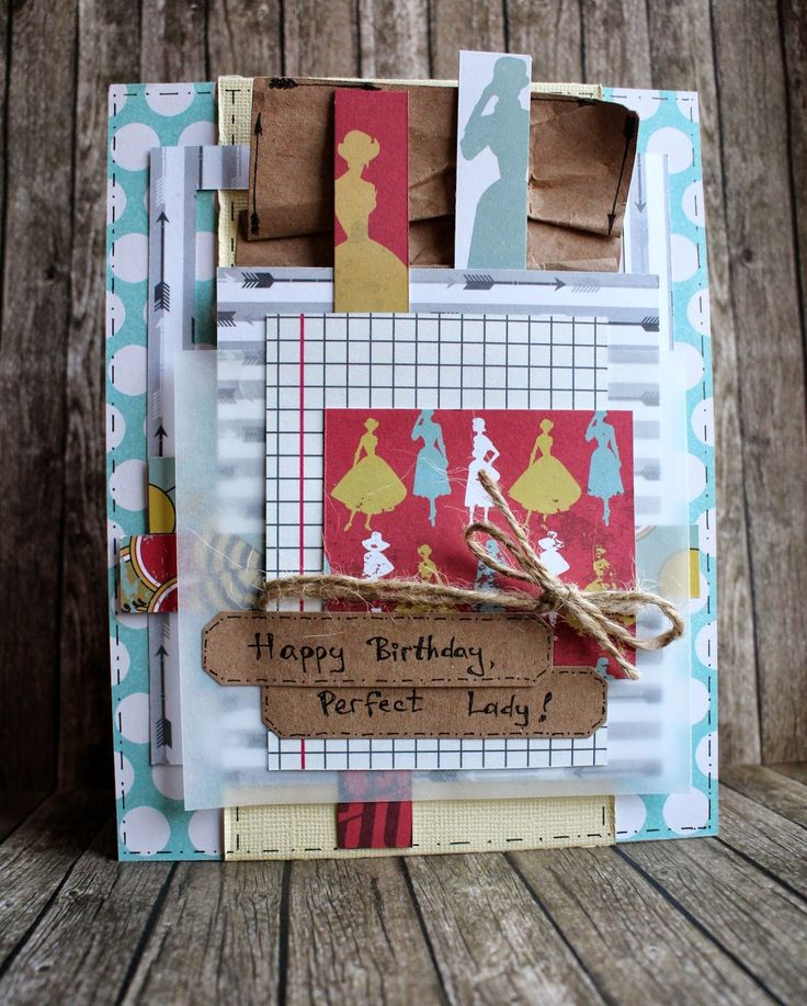 Hamster-sensey: American style. Cardmaking. Happy Birthday, Perfect Lady