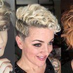 11 korte kapsels speciaal voor dames met een slag in het haar