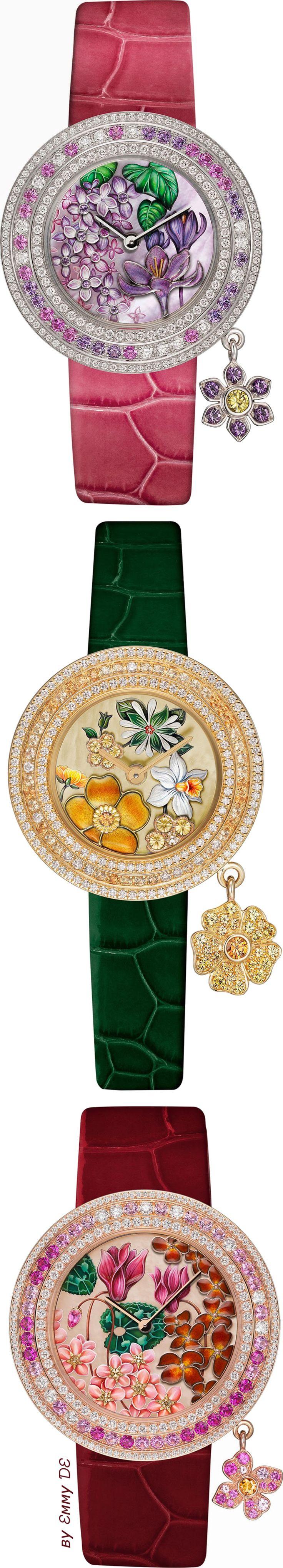 Emmy DE * Van Cleef & Arpels Charms Extraordinaire Langage des Fleurs Collection 2015