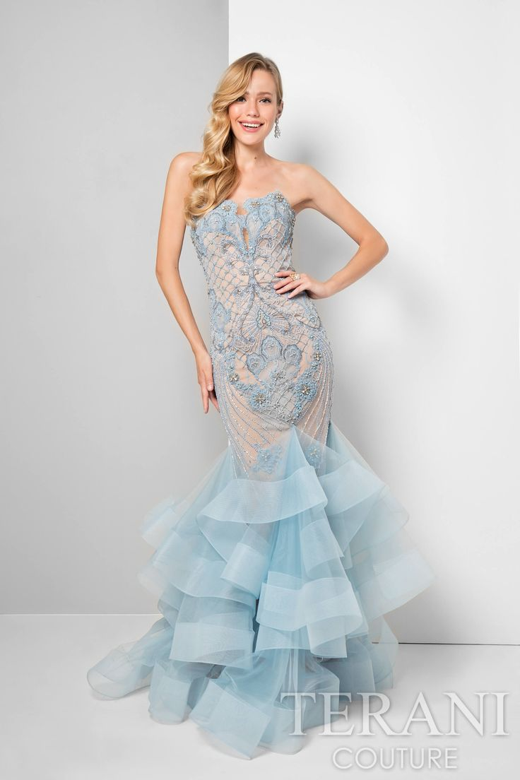 44 best Prom 2017 images on Pinterest | Ball dresses, Formal evening ...