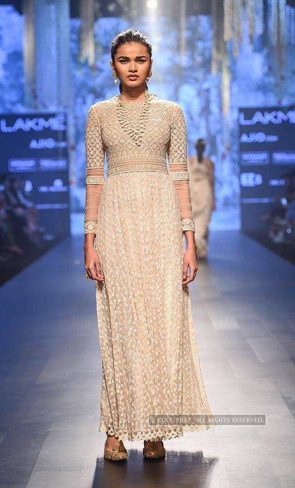 designer Tarun Tahiliani on Day 4 of the Lakme Fashion Week Summer /Resort 2017 in Mumbai on February 4, 2017.