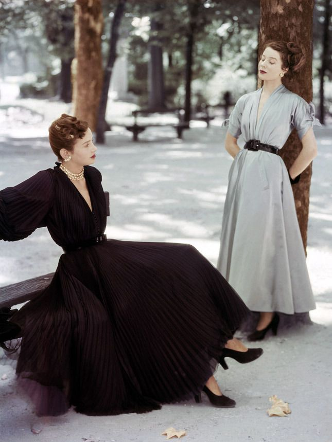Image: Christian Dior for Vogue, 1947