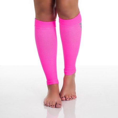 Calf Compression Running Sleeve Socks - Multiple Sizes and Colors by Remedy, Pink
