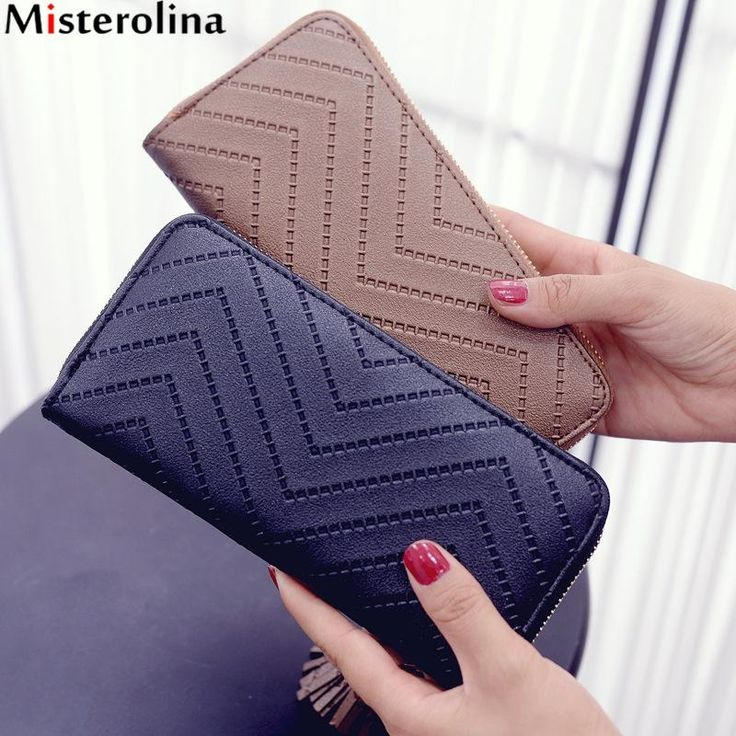 3.95$  Know more - Women Day Clutches Long Wallet Lady Leather Wallet Clutch Checkbook Purse Tassel Purse Women Long Leather Wallet   #SHOPPING
