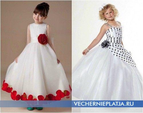 Расцветки платьев для выпускного в детском саду 2015
