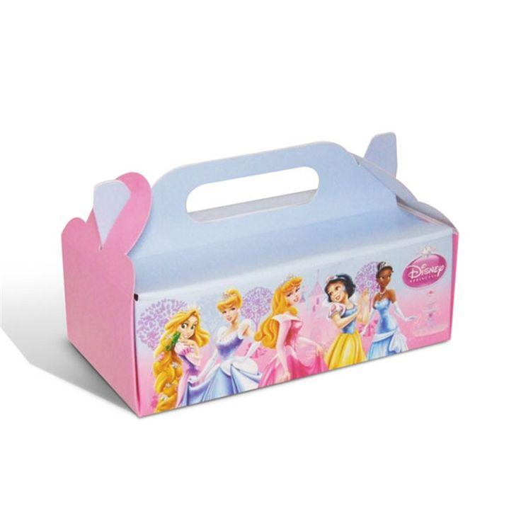Caixa Para Viagem Princesas 04 Unidades Regina Festas  FestaBox cakepins.com
