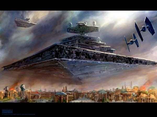 Imperial Invasion -- this is my favorite Star Wars art piece.