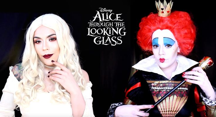 Get tickets & showtimes: http://regmovi.es/1THjxAI Check out Disney Style for more transformations: http://regmovi.es/DisneyStyle Hello movie queens! We have LoLo Love with a double tutorial on two very different queens from the upcoming Disney movie, Alice Through The Looking Glass.