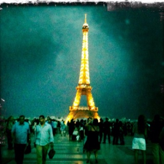 Paris in a thunderstorm