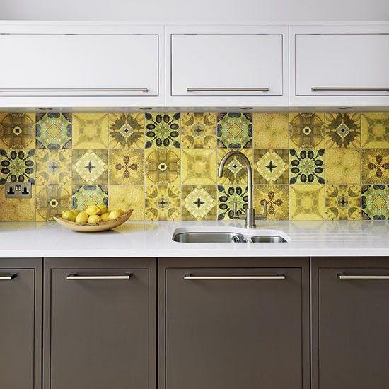M s de 1000 im genes sobre azulejos de cocina en pinterest for Azulejos hidraulicos cocina