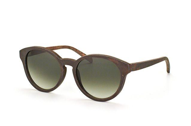 Kerbholz Sonnenbrille aus Holz