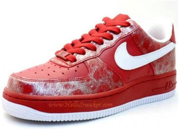 Best Selling Nike Air Force 1 Valentines Day 315115613 Varsity Red Team Red Pink Nike Womens 2008