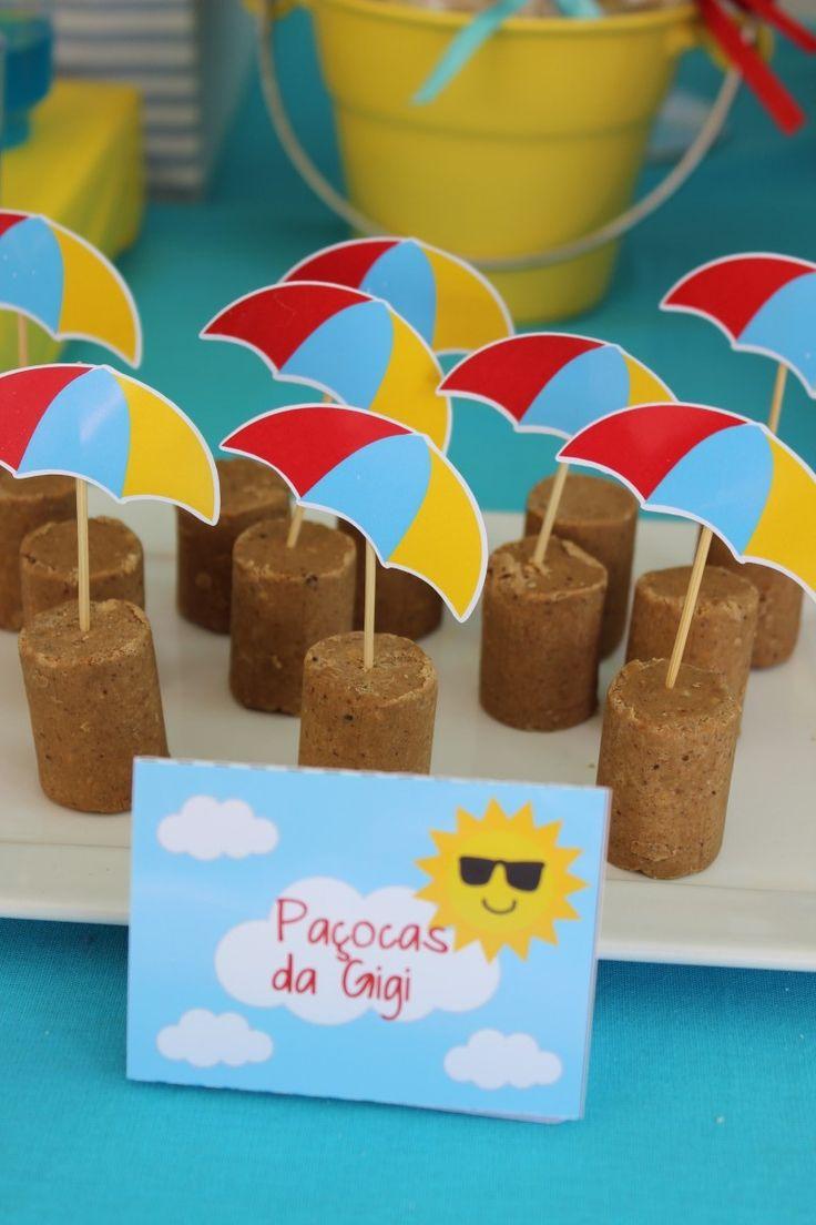 """Decoração de Festas By Catia Lins: Aniversário """"Fundo do Mar"""""""