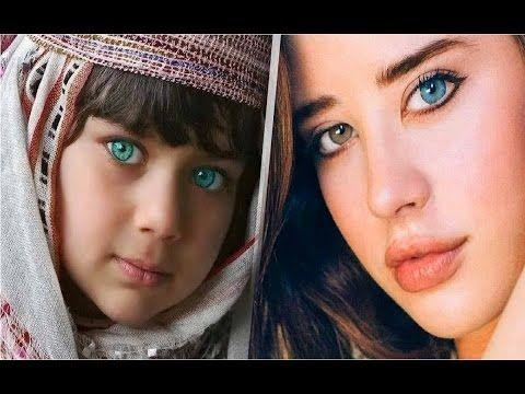 Las 16 personas con los ojos más bellos del mundo. El numero 8 puede ver...