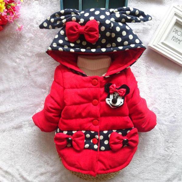 Детские куртки осень-зима из Китая :: 2015 году девочек девушка младенца одежду хлопка мягкие Куртка Пальто Зимний платье пальто 1-2-3-4.