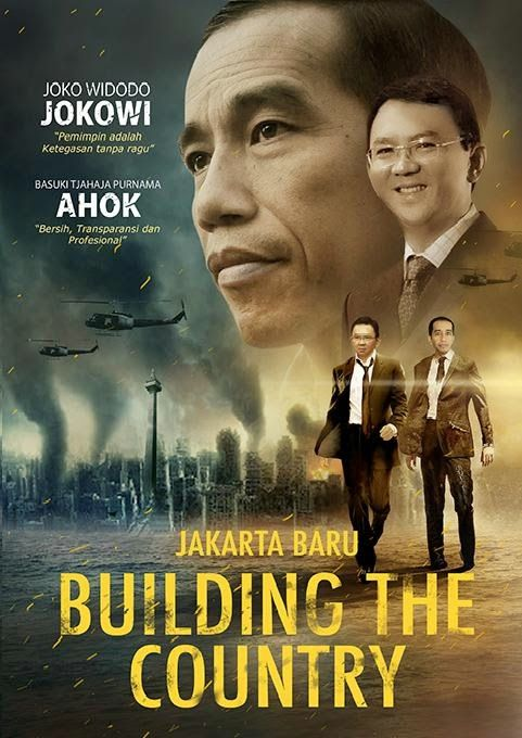 Jokowi Ahok dalam BUILDING THE COUNTRY