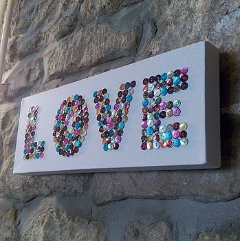 Love Buttons http://www.unitednow.com/product/2905/hygloss-bucket-o-buttons.aspx