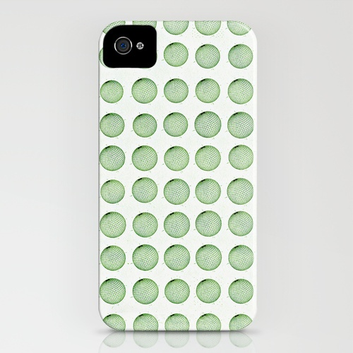 Little Balls (of various sizes)  by Wayne Edson Bryan    IPHONE CASE / IPHONE (4S, 4)
