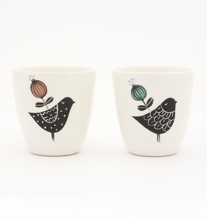 Handmade ceramic cups for true coffee entusiasts