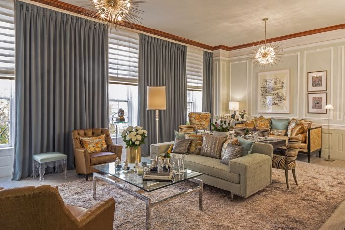 Living room with shimmer  - 8 Great Ways to Add Shimmer and Luster to Your Home