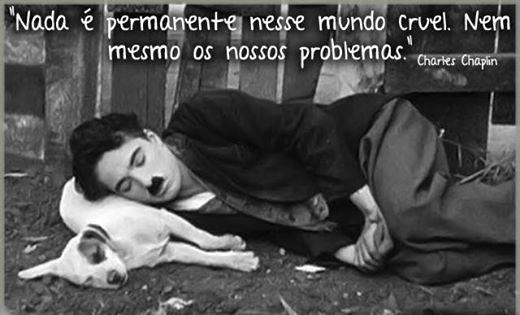 Centelha de Luz: Charles Chaplin... Simples assim...