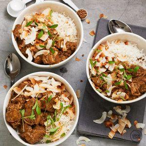 Coconut Lamb Curry.