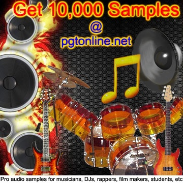 Hurry! Get 10,000 Professionally Recorded Audio Samples for $10 at:  www.paramountguitartuition.com