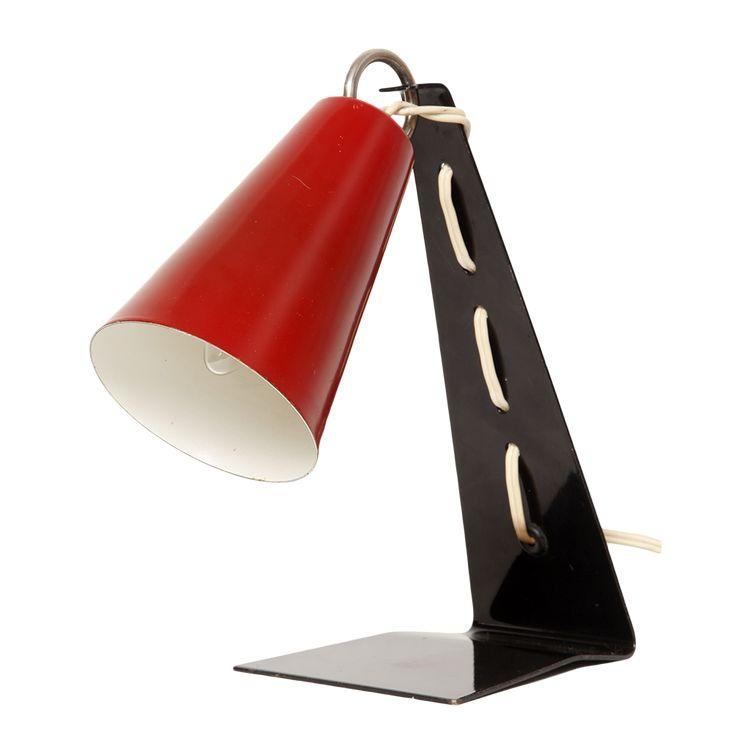Polish design.lampka na biurko, A. Galecki, lata 70.
