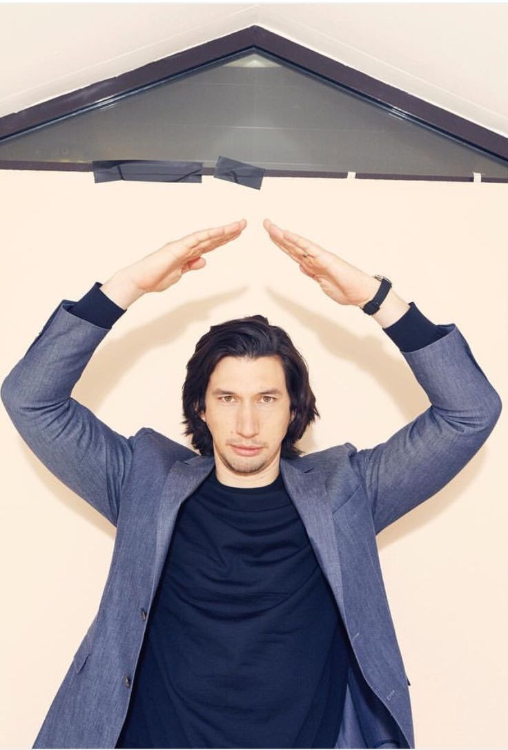 """nonibear11: """" clrbr7: """" mummiesandlightsabers: """" nonibear11: """"Adam Driver photographed by Vincent Ferrane """" Oh look, Ben is practising his Force powers by levitating a pediment of Luke's new Jedi temple. It's either that or he's taking ballet..."""