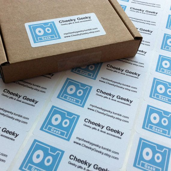 Return Address Labels Sticker Sticky labels by DayzeeLoveDesigns, £6.00