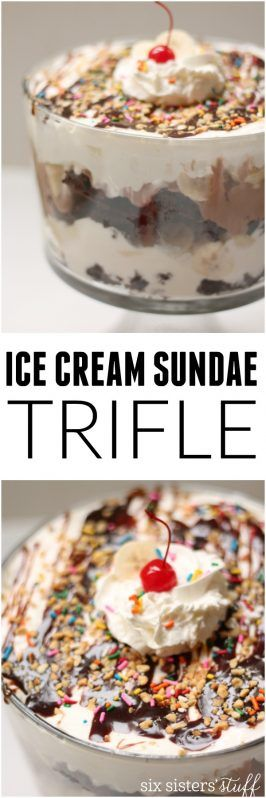 Hot Fudge Sundae Trifle Recipe — Dishmaps