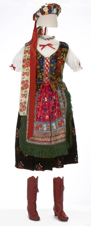 Woman's Hungarian Folk Costume, ca. 1930's.