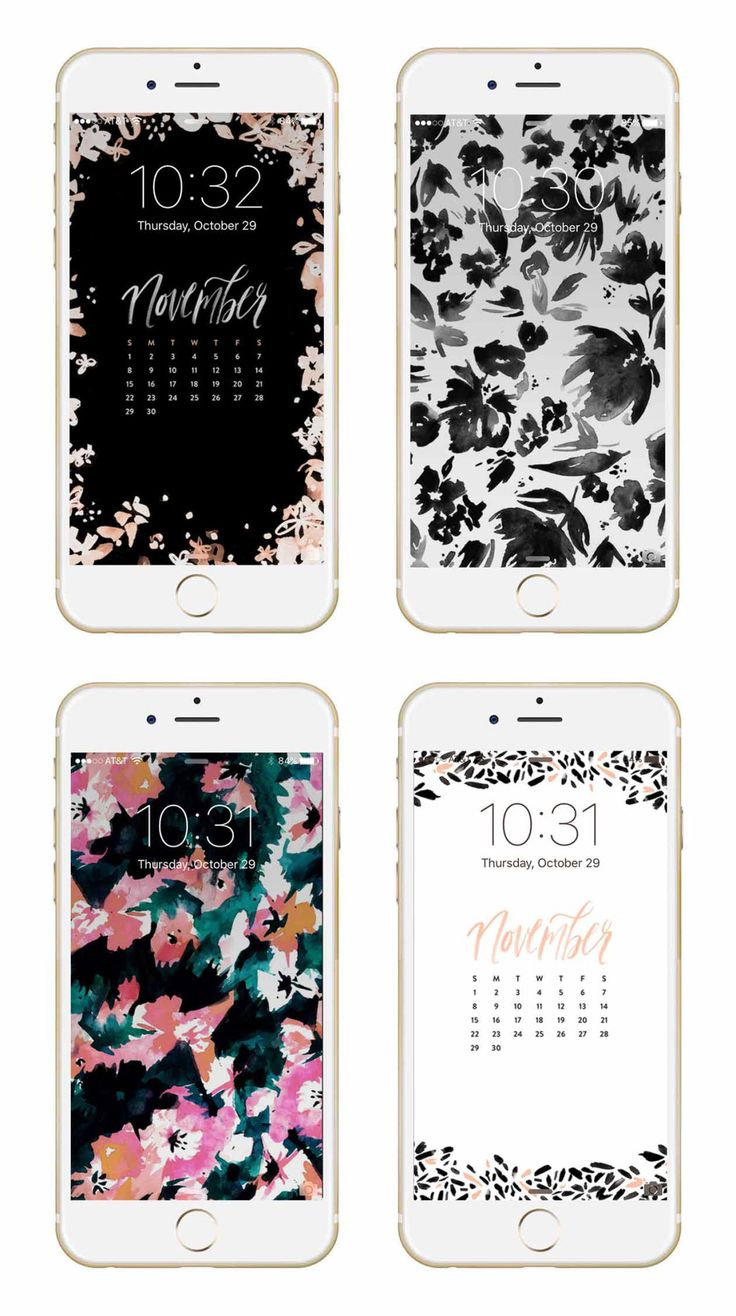 May Designs Blog - this awesome blog does a new set of background for your devices each month. And they're all super cute.