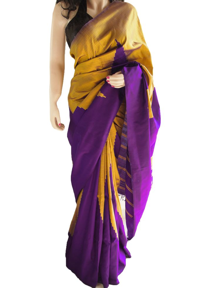 The Classic Pure South Silk With Temple Pattern