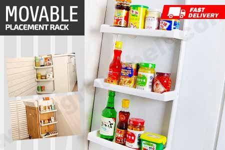 Movable Placement Rack yang multifungsi dapat dipindah & hemat ruangan hanya Rp 109.000 https://www.groupbeli.com/view.php?id=885