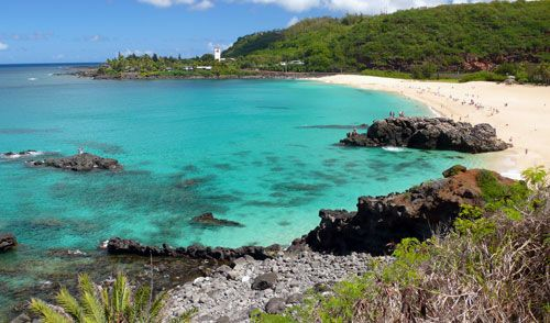 Snorkeling Waimea Bay- in the summer it is utterly transformed into a gorgeous turquoise bay and a huge beach perfect for lounging in the sun and swimming or just floating in the water. Spinner dolphins are here sometimes