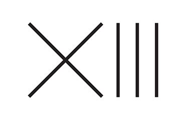 My favorite number 13 - minimalistic design is now tattooed on my left tricep. #logo #minimal #minimaldesign