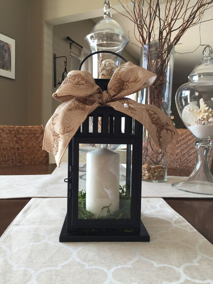 Holiday Gift DIY Lantern for 10 IKEA Lantern 799