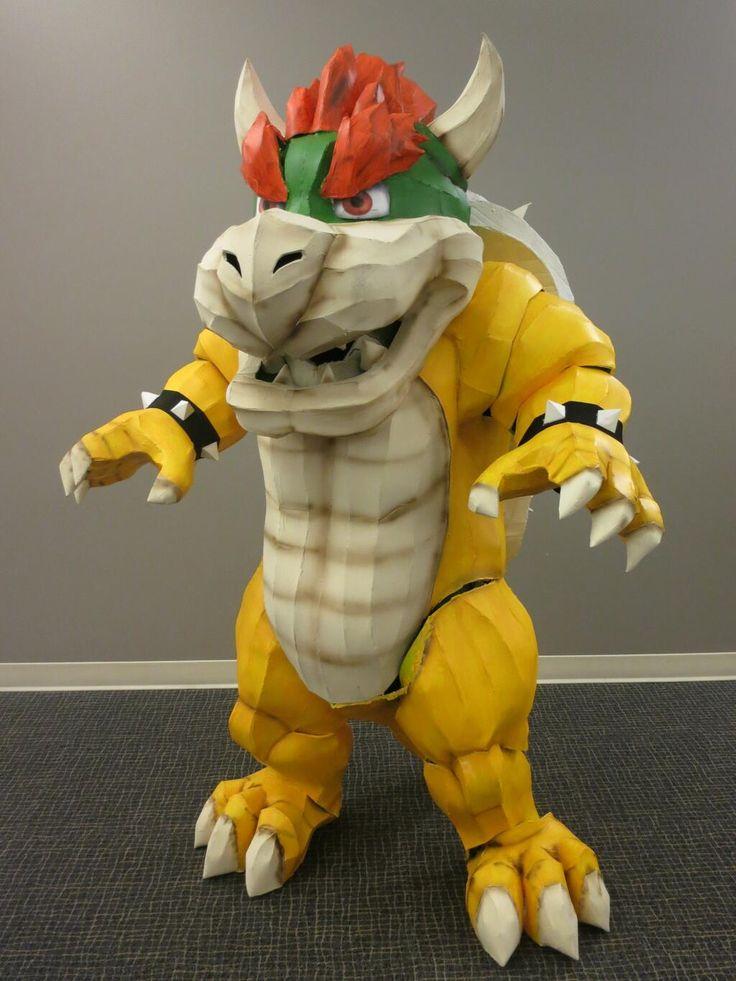 bowser king koopa by david de leon luis description from pinterestcom - Koopa Troopa Halloween Costume