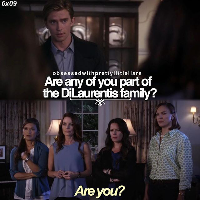 """Rhys Matthews and Ella Montegomery quote """"Are you?"""" PLL Lol, straight to the point there Ella."""